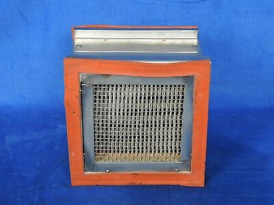 Hot Air filter for material drying/conveying system Inline filter unit