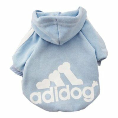 Scheppend Adidog Dog Clothes Puppy Cat Hoodie Coat Sweater - Many Colors & Sizes