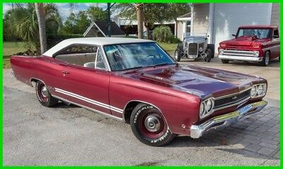 1968 Plymouth GTX Numbers Matching 440 / Automatic 1968 Plymouth GTX Coupe Numbers Matching 440 Automatic