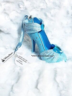 Disney Parks Cinderella Shoe Christmas Holiday Ornament New w/ Tags!