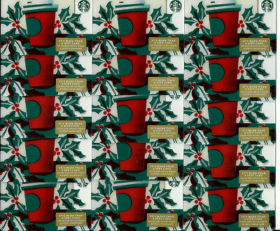 Starbucks New Holiday Gift Cards (Lot Of 15) #36