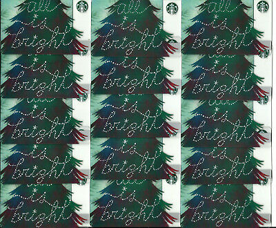 Starbucks New Holiday Gift Cards (Lot Of 15) #38