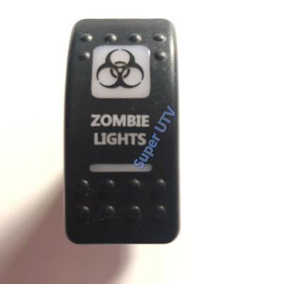 Zombie Lights Switch - Amber / Orange Light Rocker Can-Am Commander Maverick X3