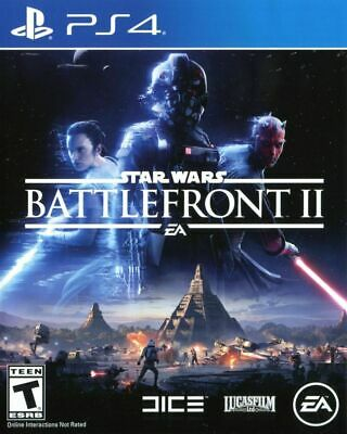 Star Wars: Battlefront II 2 - Sony PlayStation 4 PS4 Game - Brand New!