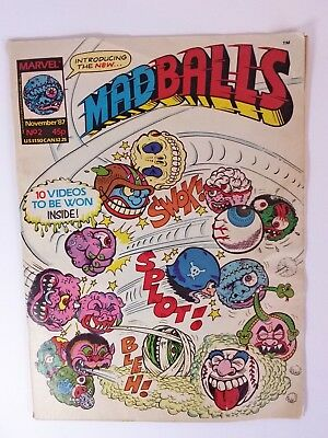 Madballs Comic - No.2 - November 1987