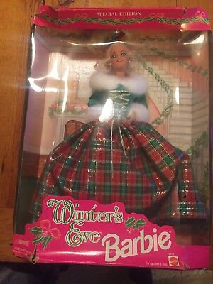 Special Edition 1994 Winter's Eve Barbie-damaged Box