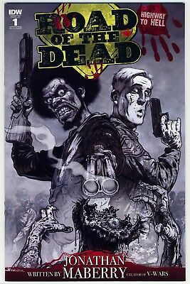 Road Of The Dead Highway To Hell #1 IDW Santiperez Pencil Art 1:10 Variant RARE