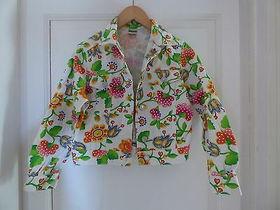 United Multicolores Of Benetton Coton 012 Colors Fleurs Blouson aUx87U
