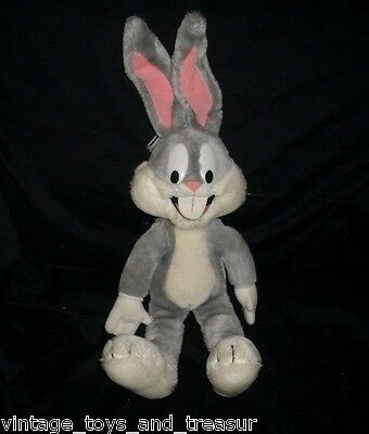 45.7cm Vintage 1987 Bugs Bunny Warner Bros Mighty Star Peluche Peluche Big