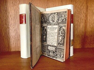 OLD BOOKS LOT 1600-1700s