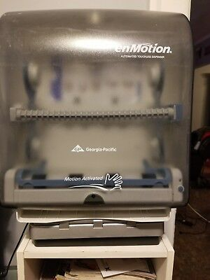 enMotion paper towel dispenser touchless motion activated georgia pacific