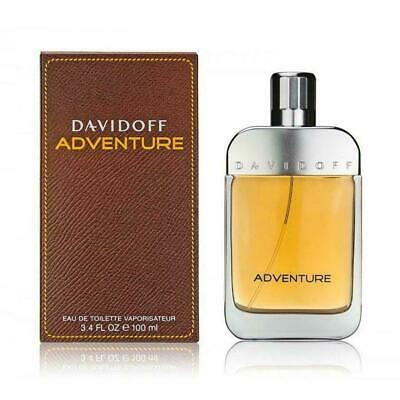 Adventure 100Ml Edt Spray By Davidoff Men's Perfume New Cologne Fragrance Davido