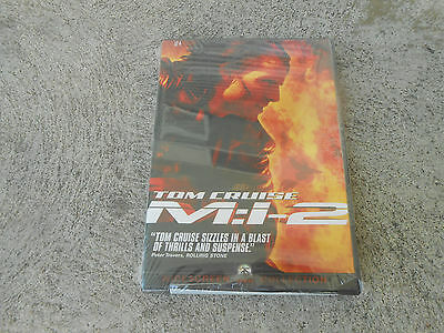 Tom Cruise-M:i-2-Mission Impossible-Dvd-Region 1-Factory Sealed-Brand New