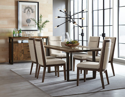 DUMONT Dining Table With 6 Chairs - HOUSTON ONLY!