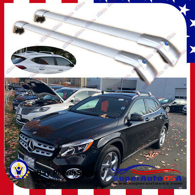 For Mercedes Benz GLA 14-2017 Top Roof Rack Baggage Luggage Cross Bar crossbar