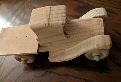 Wooden Vintage Style Toy Truck Handmade