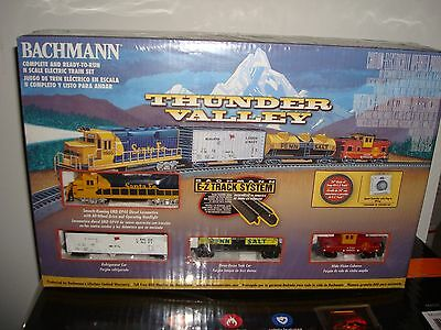 "Bachmann ""Thunder Valley"" N Scale Train Set New Factory Sealed"