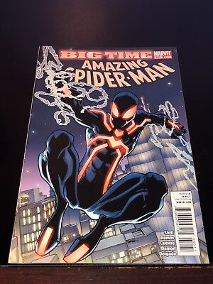2011 AMAZING SPIDER-MAN #650 1st appearance Spidey STEALTH SUIT Very Fine VF
