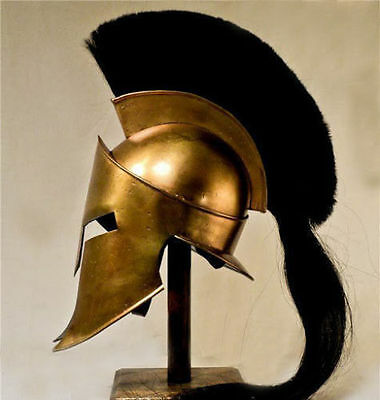 Movie Spartan King Leonidas Medieval Roman Helmet Greek Liner Reenactment rtet
