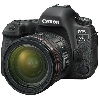 Canon EOS 6D Mark II DSLR Camera Kit with 24-7mm f/4 IS USM Lens QQ