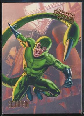 2017 Fleer Ultra Spider-Man Trading Card #9 Scorpion