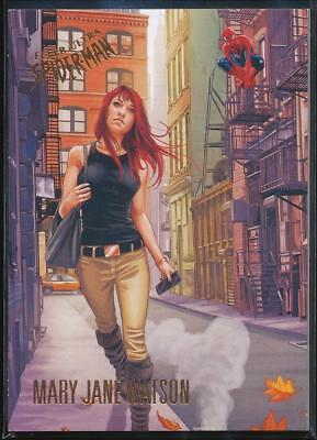 2017 Fleer Ultra Spider-Man Trading Card #10 Mary Jane Parker