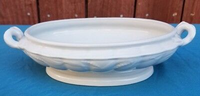 "Antique Ironstone Tureen Dish W. & E. Corn. Burslem Approx. 10"" x 6"" RARE!"