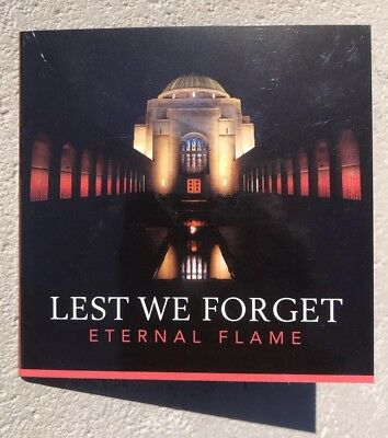 2018 $2 Coloured Coin - Lest We Forget Coin In Card with C Mintmark