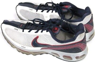 Running Red Air Silver Size Rare Mens 2009 Nike Max Shoes White 12 0vdzw70q