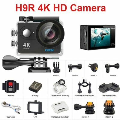 155° H9R 2inch 1080P HD Action Camera 4K WiFi Bike Sports Camcorder DV Video BT