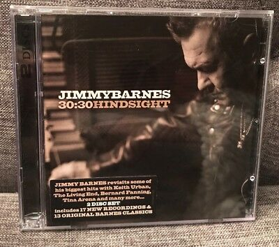 JIMMY BARNES 30:30 Hindsight Best Of 2CD 2014 Discs Mint