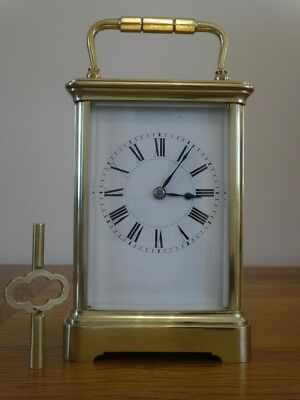 Antique Henri Jacot striking carriage clock - c. 1906/08 - fully restored 10/18