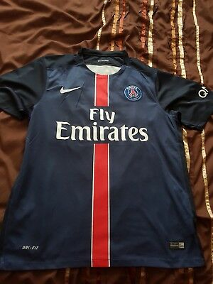 Paris Saint Germain shirt large PSG
