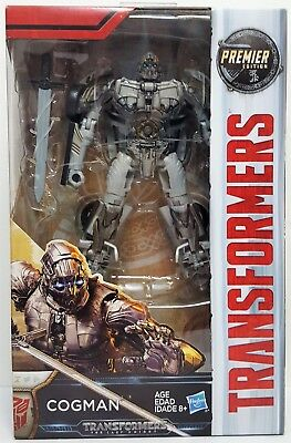 Transformers Cogman Deluxe Class The Last Knight Premier Edition Action Figure