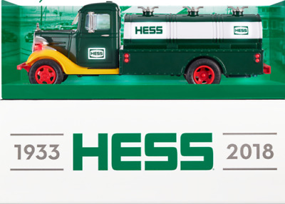 2018 HESS TOY TRUCK 85th ANNIVERSARY COLLECTOR'S LIMITED EDITION