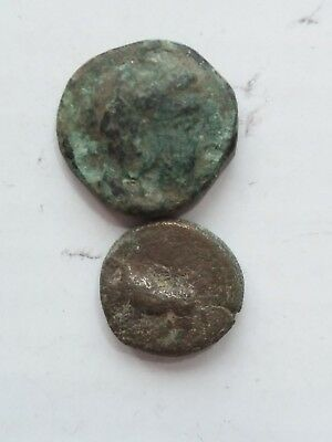 Ancient Greek Coin. Lot of 2 coins .