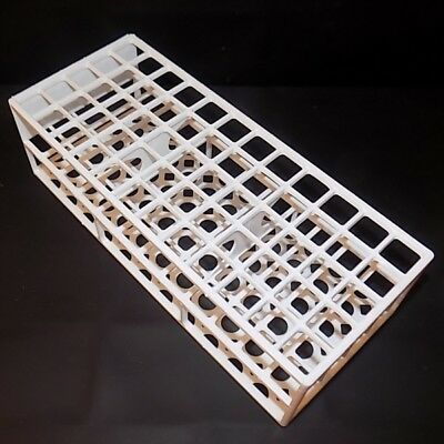 Test tube tray. Holds 60 tubes up to 17 mm tubes OD