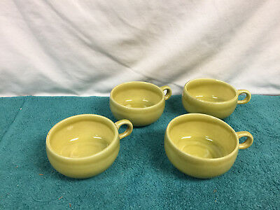 VTG Russel Wright Steubenville American Modern Four 4 cups