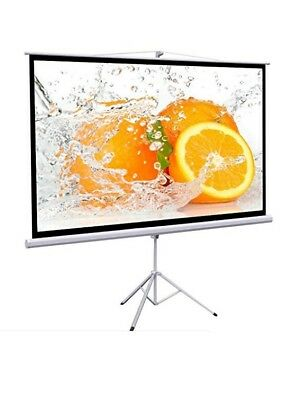 Yaheetech YA-75 Projection Screen 100 Inch 16:9 Manual Pull Down Projector