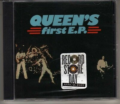 Queen: Queen's First Ep Cd Brand New Freddie Mercury Brian May Out Of Print