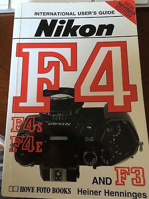 Nikon F4 Users guide by Hove