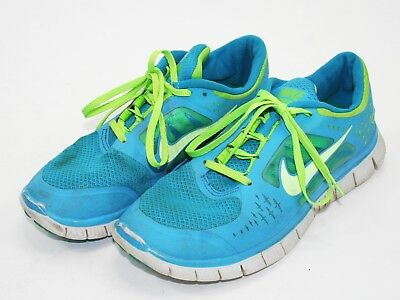 info for db56d b68bb Nike Free Run 3 women s running shoes Aqua Blue and Neon Green US 8.5 UK 6