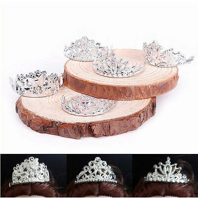 10pcs Silver Wedding Party Crown Tiara for Kelly Barbie Doll Clothes Accessories
