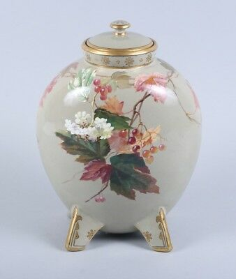 Fine Mintons Large Exhibition Vase Signed By William Mussill C1875