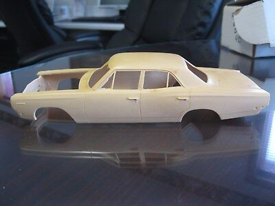 1968 Plymouth Four Door  Resin Car Model