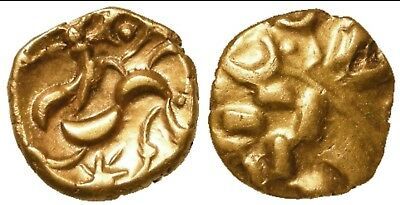 British Celtic Gold Stater Of The Corieltauvi South Ferriby Type