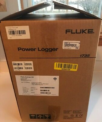 Brand new Fluke 1735 Three Phase Power Logger with Accessories.