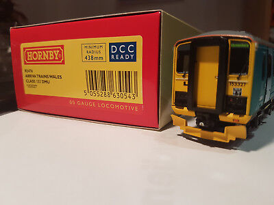 Hornby R3476 ARRIVA Trains Wales Class 153 DMU No. 153327 DCC Ready