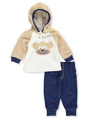 78495403da42 NEW BABY BOYS 2 pc Outfit 6 - 9 Months Hooded Zip Jacket Pants Set ...