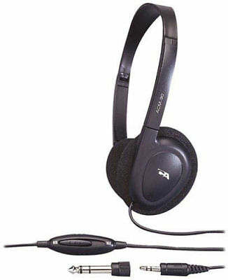 355ac33a123 Cyber Acoustics 3.5MM Plug ACM-90 Stereo Headset Headphones with Volume  Control